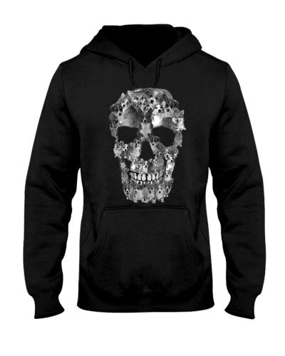 Animal Corgi Skull