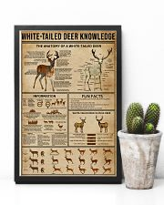 White-Tailed Deer Knowledge 11x17 Poster lifestyle-poster-8