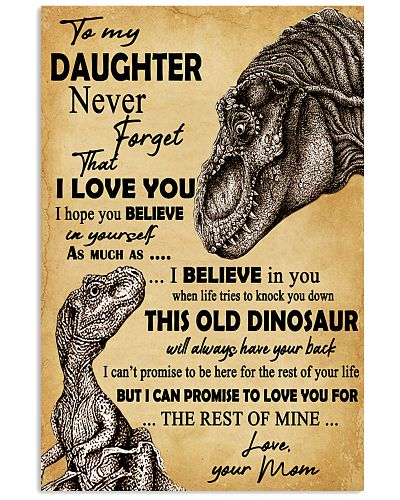 Never Forget That I Love You Dinosaur Mother