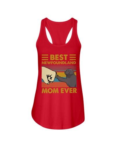 Retro Blue Best Newfoundland Mom Ever