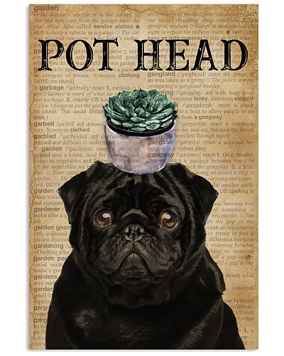Dictionary Pot Head Pug Garden