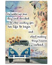 Hippie She Woke Up One Day 11x17 Poster front