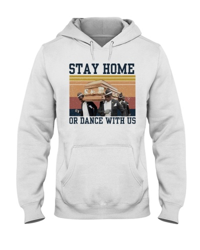 Retro Navy Stay Home Or Dance Squad