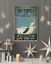 Vintage Bath Soap Sea Turtle 11x17 Poster lifestyle-holiday-poster-1