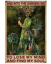 And Into The Garden Girl 16x24 Poster front
