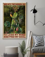 And Into The Garden Girl 16x24 Poster lifestyle-poster-1