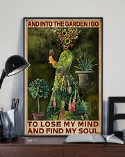 And Into The Garden Girl 16x24 Poster lifestyle-poster-2