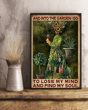 And Into The Garden Girl 16x24 Poster lifestyle-poster-3