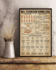 Nail Technician Knowledge 11x17 Poster lifestyle-poster-3