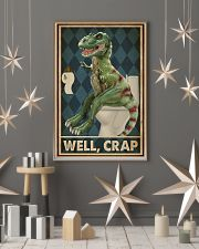 Retro Restroom Dinosaur Well Crap 16x24 Poster lifestyle-holiday-poster-1