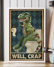 Retro Restroom Dinosaur Well Crap 16x24 Poster lifestyle-poster-4