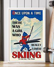 Once Upon A Time Skiing Brown Haired Girl 16x24 Poster lifestyle-poster-4