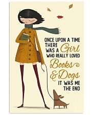 Autumn Girl Once Upon A Time Dog Reading 11x17 Poster front