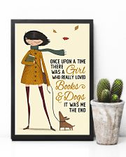 Autumn Girl Once Upon A Time Dog Reading 11x17 Poster lifestyle-poster-8