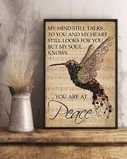 Music Sheet My Mind Still Talks Hummingbird 16x24 Poster lifestyle-poster-3