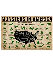Monsters In America Bigfoot  17x11 Poster front