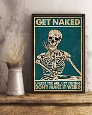 Unless You Are Just Visiting Skeleton 16x24 Poster lifestyle-poster-3