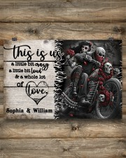 Personalize Motorcycling Skeleton A Little Bit Of  24x16 Poster aos-poster-landscape-24x16-lifestyle-15