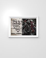 Personalize Motorcycling Skeleton A Little Bit Of  24x16 Poster poster-landscape-24x16-lifestyle-02