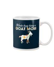 Kinda Busy Being A Goat Mom Mug thumbnail