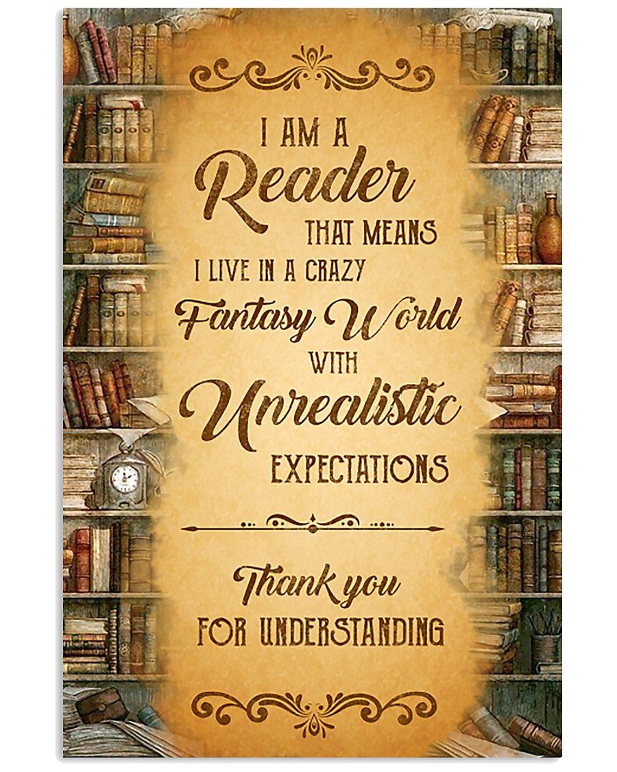 Books I Am A Reader 11x17 Poster
