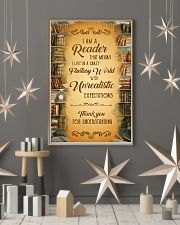 Books I Am A Reader 11x17 Poster lifestyle-holiday-poster-1