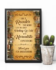 Books I Am A Reader 11x17 Poster lifestyle-poster-8