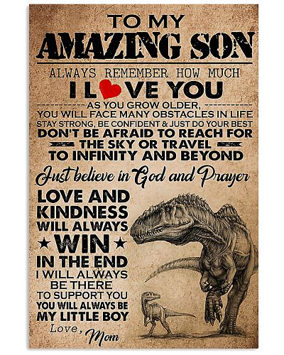Dinosaur To My Amazing Son I Love You