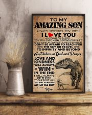 Dinosaur To My Amazing Son I Love You 11x17 Poster lifestyle-poster-3