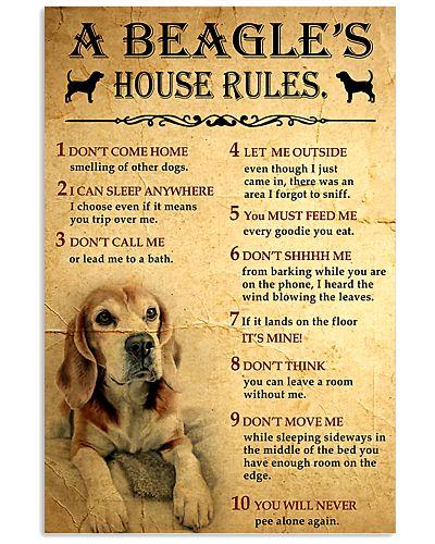 A Beagle's House Rules