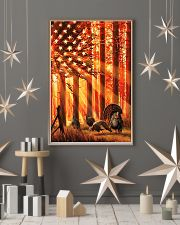 Hunting Turkey In The Sun Flag 11x17 Poster lifestyle-holiday-poster-1