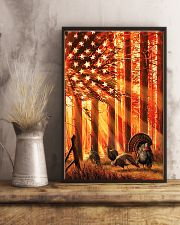 Hunting Turkey In The Sun Flag 11x17 Poster lifestyle-poster-3