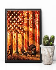 Hunting Turkey In The Sun Flag 11x17 Poster lifestyle-poster-8