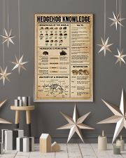 Hedgehog Knowledge 11x17 Poster lifestyle-holiday-poster-1