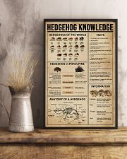 Hedgehog Knowledge 11x17 Poster lifestyle-poster-3