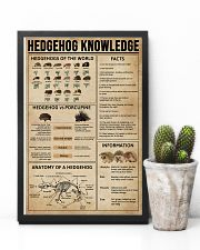 Hedgehog Knowledge 11x17 Poster lifestyle-poster-8