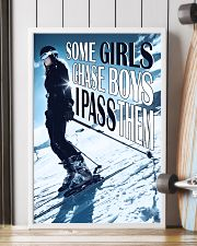 Skiing Some Girls Chase Boys 16x24 Poster lifestyle-poster-4