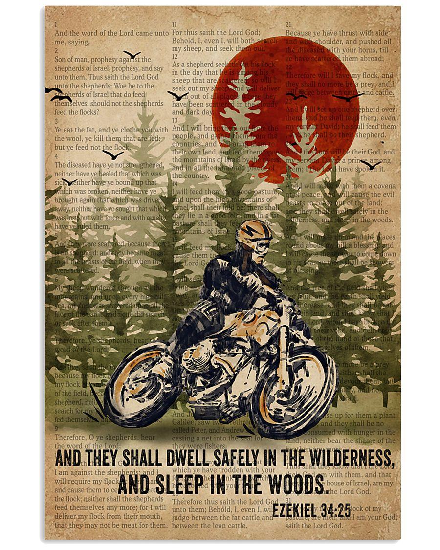 Bible Sleep In The Woods Motor 11x17 Poster