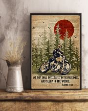 Bible Sleep In The Woods Motor 11x17 Poster lifestyle-poster-3