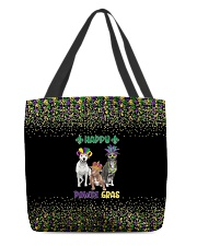 Happy Pawdi Gras Pit Bull All-over Tote thumbnail