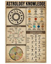 Astrology Knowledge 11x17 Poster front