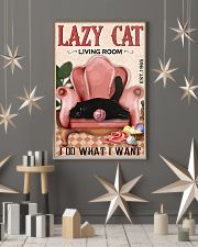 Living Room Do What I Want Cat 11x17 Poster lifestyle-holiday-poster-1