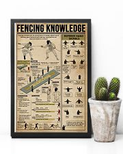 Fencing Knowledge  11x17 Poster lifestyle-poster-8