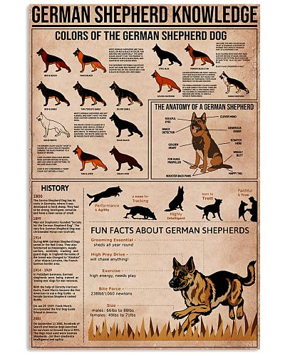 Knowledge Poster German Shepherd
