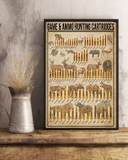 Game And Ammo Hunting Cartridges 16x24 Poster lifestyle-poster-3