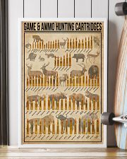 Game And Ammo Hunting Cartridges 16x24 Poster lifestyle-poster-4