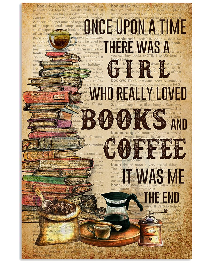 Once Upon A Time Reading Coffee 11x17 Poster