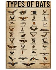 Types Of Bats 16x24 Poster front
