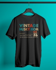 Vintage Dog Mom Husky - On Sale Classic T-Shirt lifestyle-mens-crewneck-front-3