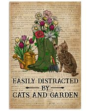 Dictionary Easily Distracted By Cats And Garden 11x17 Poster front